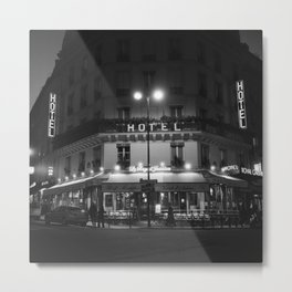 Hotel Paris Metal Print