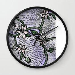 Spring Awakening Quotes Wall Clock