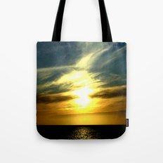 Sunrise over Bass Strait - Tasmania Tote Bag