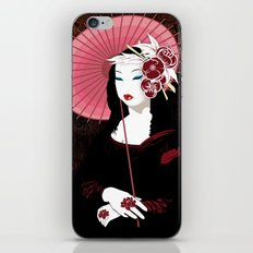 Mona Geisha Lisa iPhone & iPod Skin