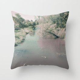 Blushing All Over Throw Pillow