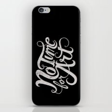 No Time For Art iPhone & iPod Skin