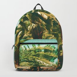 Coconut Tree Lineup Backpack