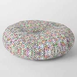 Crazy Paving Floor Pillow