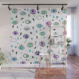 Eyes eyes baby - Color Wall Mural
