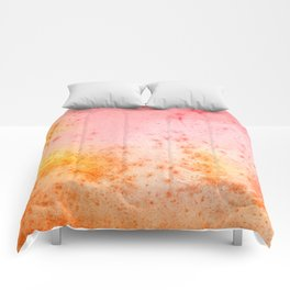 Vintage Paper Texture - Pastel Fantasy Comforters