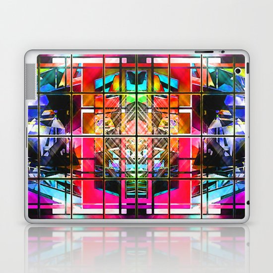 3-D-GEOMETRY AND COLOR. Laptop & iPad Skin