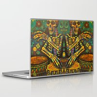 drums Laptop & iPad Skins featuring Death Drums by Sherdeb Akadan