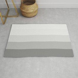 Gray Ombre Stripes Rug
