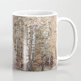 birch forest Coffee Mug