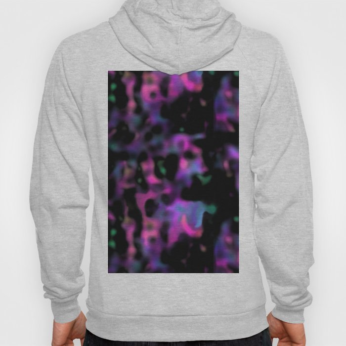 psychedelic black abstract Hoody