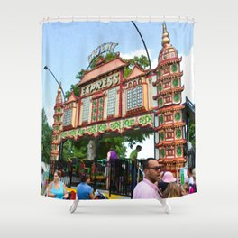 Orient Express 1 Shower Curtain