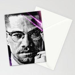 Malcolm X // Galaxy Stationery Cards