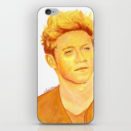 Niall Horan Painting iPhone Skin