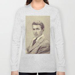 James Stewart, Actor Long Sleeve T-shirt