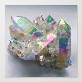 Opal Aura Quartz #10 Canvas Print