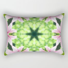 Flowering Rectangular Pillow