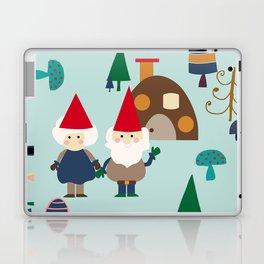 gnome blue Laptop & iPad Skin