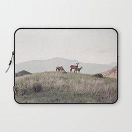 Yellowstone National Park Deer Wildlife Laptop Sleeve