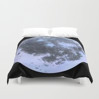 titan Duvet Covers featuring Titan #3 by Tobias Bowman
