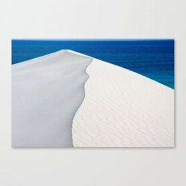 Sand dune at De Hoop Nature Reserve, Southern Cape, South Africa Canvas Print