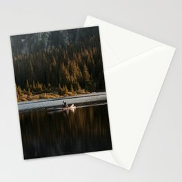 Sunset Paddle Stationery Cards
