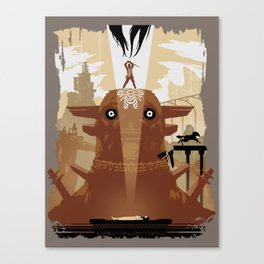 Shadow of the Colossus Tribute Canvas Print