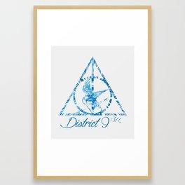 District 9 3/4 Framed Art Print