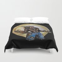 werewolf Duvet Covers featuring Werewolf ! by Patricia Pedroso