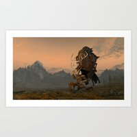 The Reality of Gaming  Art Print