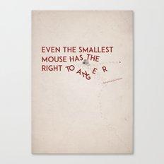 Smallest Mouse Canvas Print