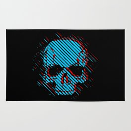 3d Skull Rug