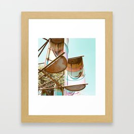 Rainbow Barrels Framed Art Print