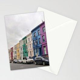 Rainbow Row Notting Hill Stationery Cards