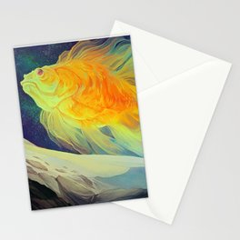 The Fantail Aurora Stationery Cards