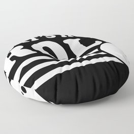 Bowling That's How I Bowling Lover Floor Pillow