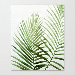 Fresh Palm Fronds Canvas Print