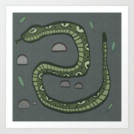 Sssnake Art Print