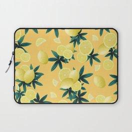 Lemon Twist Vibes #3 #tropical #fruit #decor #art #society6 Laptop Sleeve