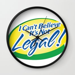 Legalize Cannabis Wall Clock