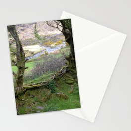 Linked in Our Love of This Land Stationery Cards