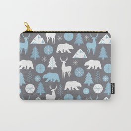 Mountain Animals Carry-All Pouch