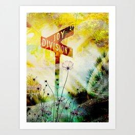 """""""Corner of Joy And Division"""" Art Print"""
