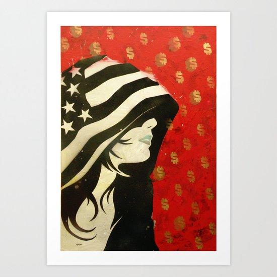 Hoodwinked Art Print
