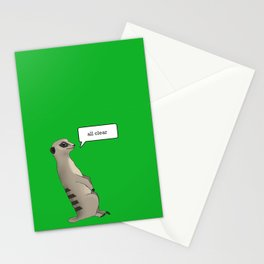 Guardsman of the year 3 Stationery Cards