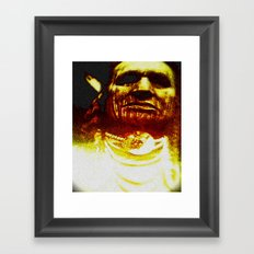 CHIEF - BY C.D. KIRVEN Framed Art Print