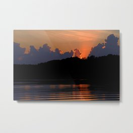 Funny how the night moves Metal Print