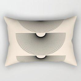 Abstraction_SUNSHINE_LINE_POP_ART_Minimalism_001J Rectangular Pillow