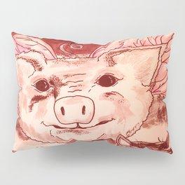 Pig n' Puss Pillow Sham
