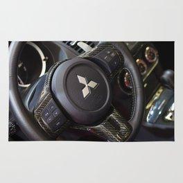 Mitsubishi Lancer Evolution X Wheel Rug